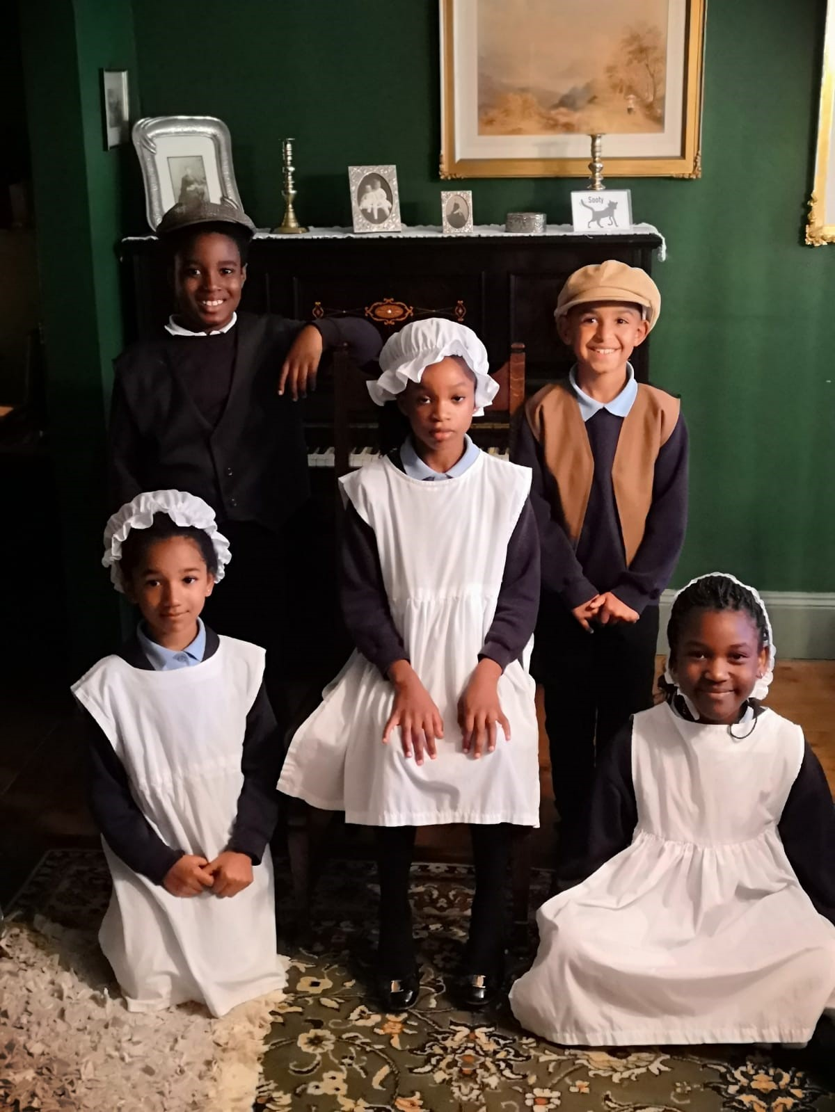 Victorian day at Clayton Hall